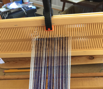 double heddle threaded