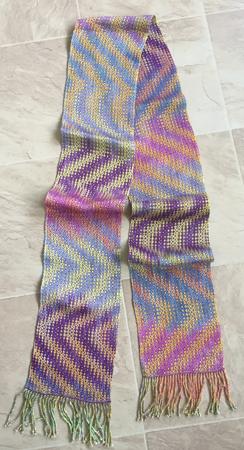 pansies scarf 1