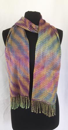 pansies scarf 2