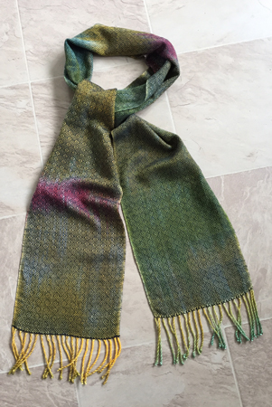wood duck 1 scarf complete