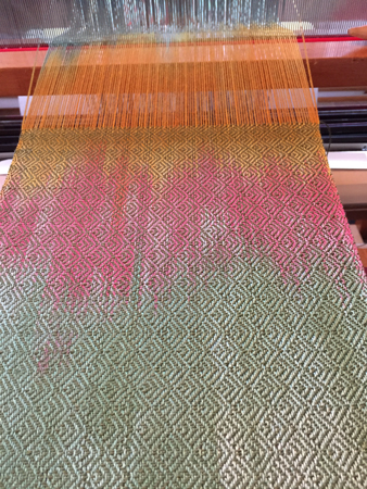 wood duck 3 on the loom