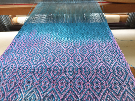 tencel Ms and Ws weave pattern