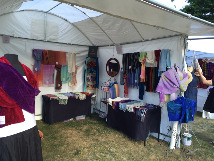 an example of my outdoor booth display