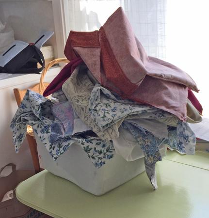 51 bags sewn