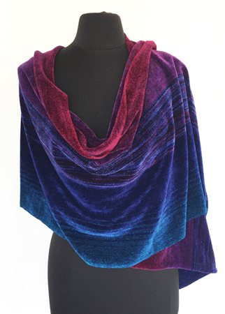 royal gems shawl, draped
