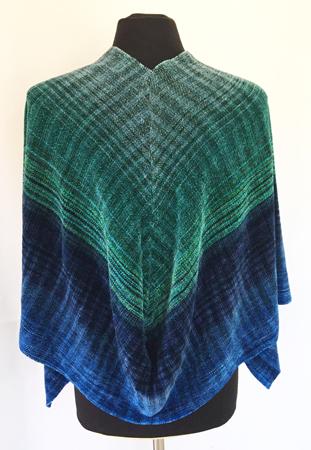shawl drape back