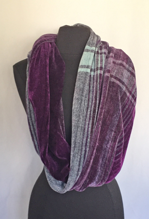 cowl-wrap single drape