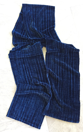 favorite jeans scarf, flat