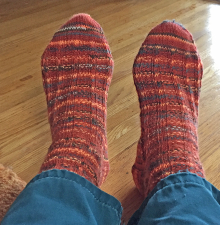my Halloween socks