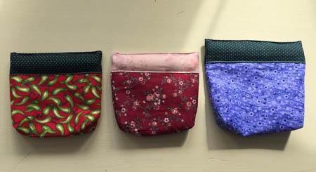 3 snap bags