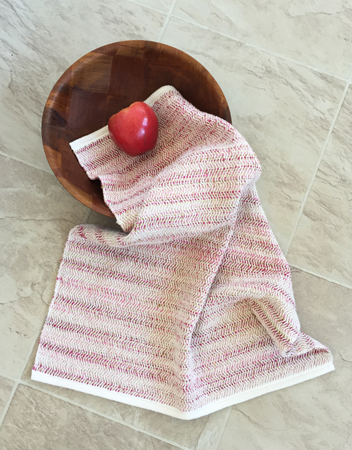 pinks flannel towel