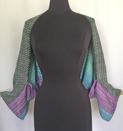cotton & bamboo handwoven shrug