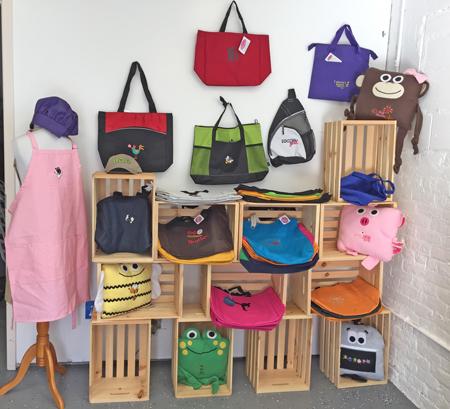monogrammed bags etc