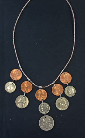 spare change necklace