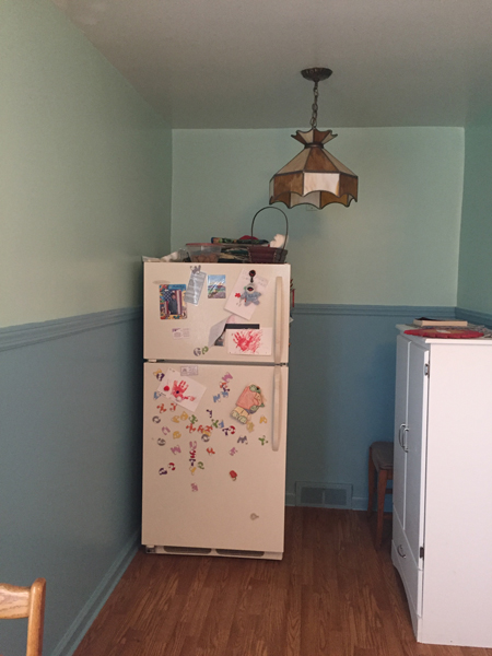 kitchen alcove after