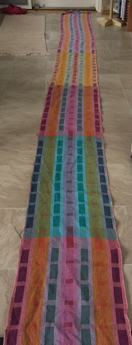 6 towels off the loom