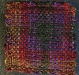 earth coaster, plain weave weavie