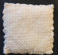 plain weave white weavie
