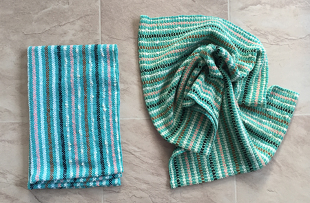 2 more handwoven towels