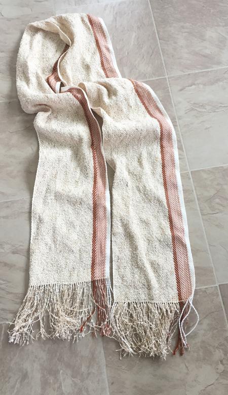 Glitter scarf #1