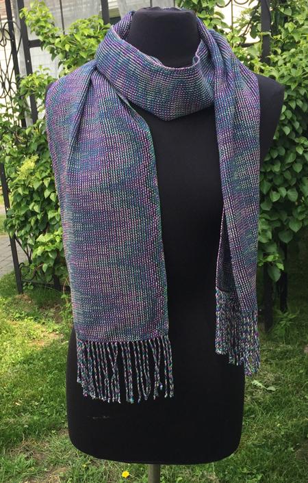 aurora borealis scarf 1
