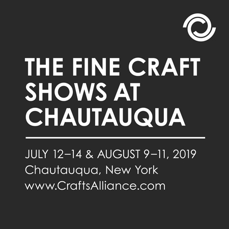 Ad for Chautauqua Craft Show