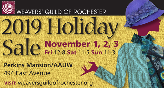 Weavers' Guild Holiday Sale poster