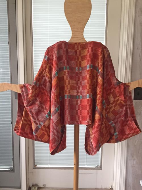handwoven Paprika Spice jacket