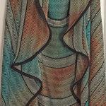handwoven Arizona open front cardigan
