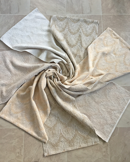7 handwoven Comfort At Home towels