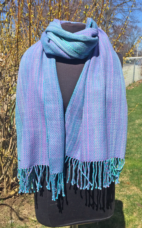 handwoven Caribbean Dreams wrap