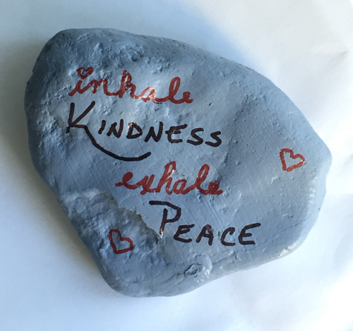 kindness rock