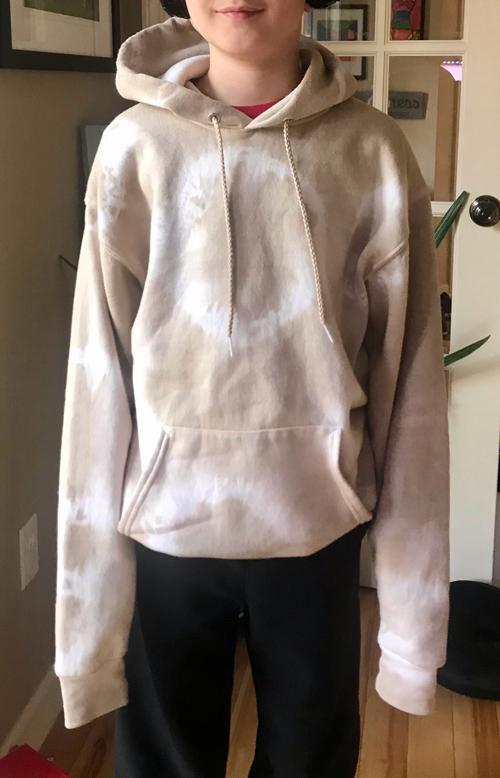 mud dyed hoodie