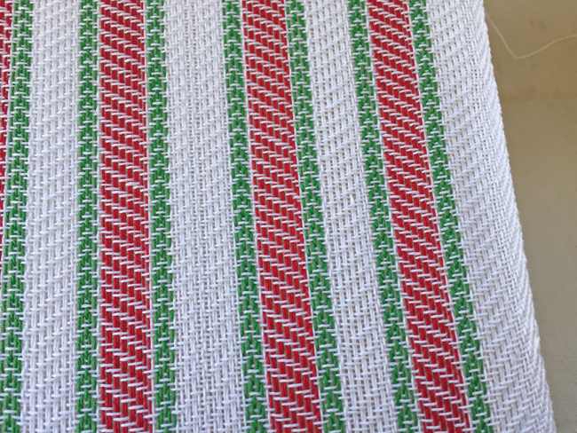 weaving candy canes FINALLY