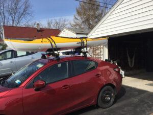 kayak on top of my car