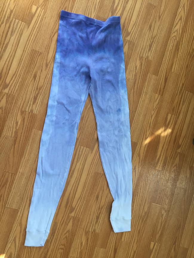 dip dyed leggings