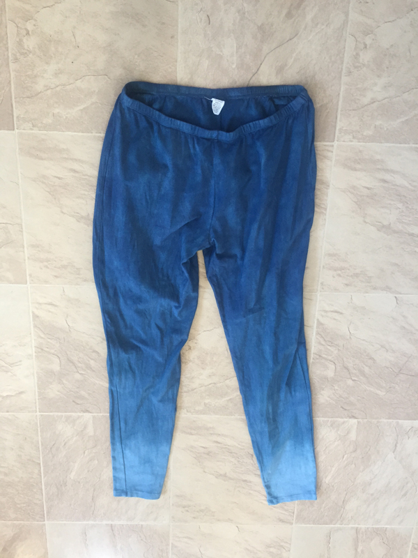 immersion dyed leggings