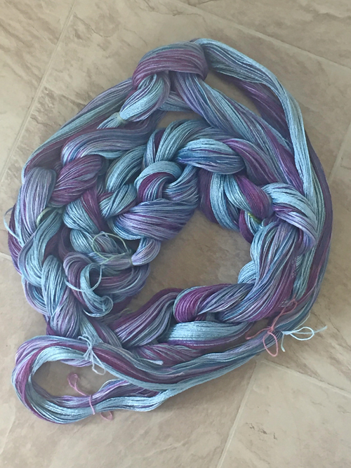 yarn chained for cotton pants