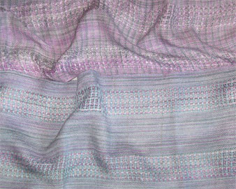 Silver Linings handwoven scarf
