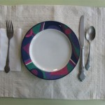 handwoven luncheon placemat