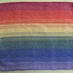 rainbow placemat, light