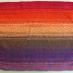 rainbow placemat orange