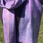 handwoven irises scarves